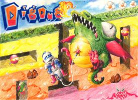 Dig Dug by unsilentwill
