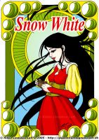 Snow White by Gwennafran
