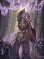 Vanir' the Undead Witch by kevywk