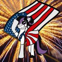 Happy 4th of July - Callie by KageToraNoTsume