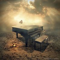 the piano by evenliu
