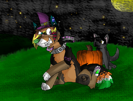Happy Halloween 2012 by huskynugget