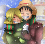 [ONE PIECE] Merry Christmas~ by RosiieChan