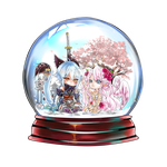 Snow Globe Special commission for Quaazera by shrimpHEBY