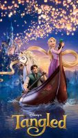 Tangled - Boat Poster Zune HD by theLastWanderer