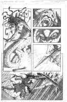 Murderthane vs Medusa pg5 by VASS-comics