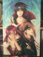 Sasori,Deidara,Itachi Scroll SELLING! by Kira759