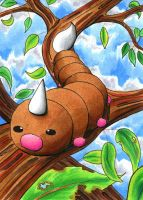 Weedle by o-Anubis-o
