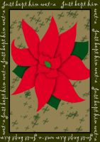 Happy Holidays - Poinsettia by Feline-Jaye