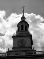 Independence Hall by stitch52481