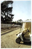 golf cart at the barn by legallyblonde877