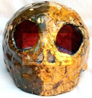 candle holder skull by studioexperiment