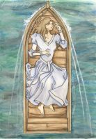 The Lady of Shalott by GreatShinigami