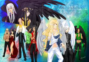 Host of angels by crystalwings6