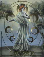 Four Cardinal Virtues: Temperance by mouseymachinations