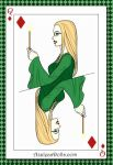 Olivia Malfoy(Queen Of Daimonds Card) by gxfan537