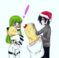 Cc and lelouch christmas by screwston12