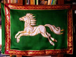 The Flag of Rohan by Leliumoj