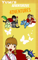 Yumi's Adventurous Adventures COVER by Phewmonster
