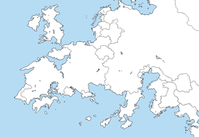 Valkyria Chronicles' Europa Blank Map template by RavenZero-One