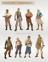Dauntless - Nomads of the Road by LiberLibelula