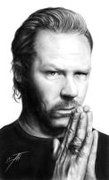 James Hetfield by AnastasiumArt