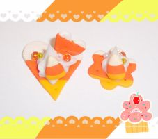 CC - Candycorn love by neko-crafts