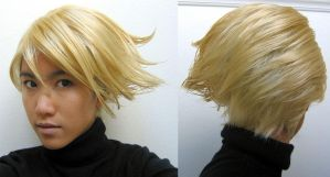 Persona 4 Teddie Wig by the-sushi-monster