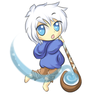 Commission: Chibi Jack Frost by Valorie-Sonsaku