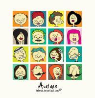 Free Avatars by Latefah