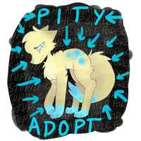 .:PITY ADOPT:. by TheDrawingWolf