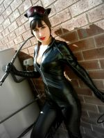 Catwoman Cosplay: Meow! by Rii-Ruu