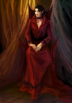 Vampire In Reds by ArchiaOryix