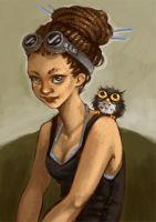 goggles and owls by a-vinter