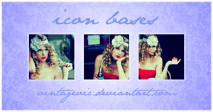 Taylor Swift Icon Bases by vintagevic