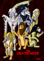 Death Note Lion King Style by Master-Bit