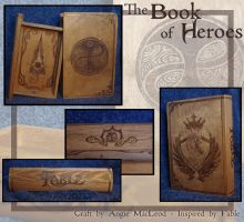 The Book of Heroes by ValkAngie