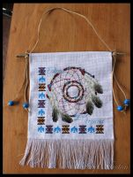 Dream Catcher Wall Hanging by KezzaLN