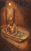 Alien Baby by LuisDiazArtist
