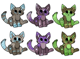 Cheap Kitten Adopts closed by ForestGlade
