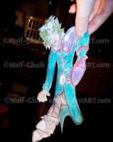 .:Paperdoll Wes:. 'Put Me Down Woman!' by Wolf-Chalk