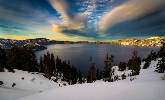 Crater Lake by Printing-Services