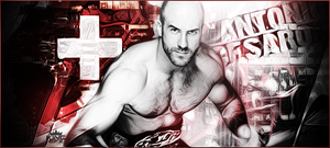 Antonio Cesaro Signature by WHU-Dan