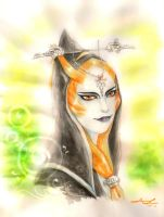 Midna's true form by AshyMashy