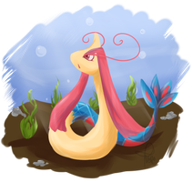 Milotic by Raidiance