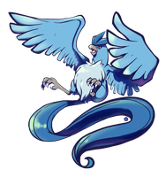 Articuno by crayon-chewer