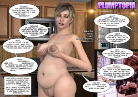 BBW MILF showing off her boobs and belly by plumptopia