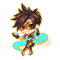 Overwatch: Tracer by EiraBlair
