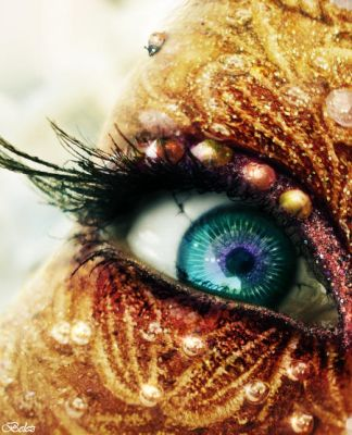 The Golden Fairy s Eye by belez