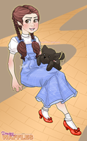 Dorothy Gale w/Drawing Process Video by jellyso